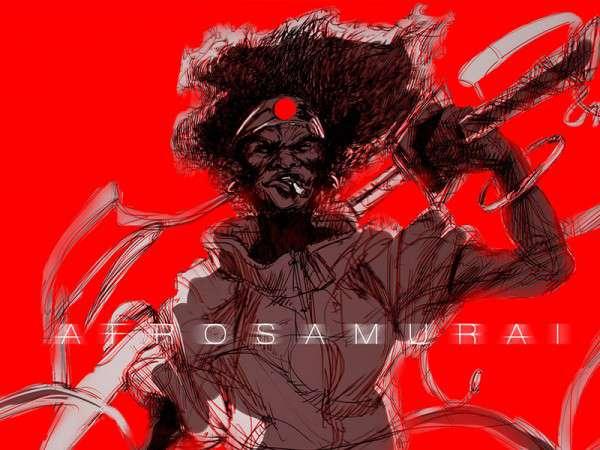 <span>Afrosamurai</span><i>→</i>